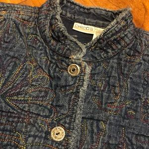 CHICOS jacket button up made in India 2